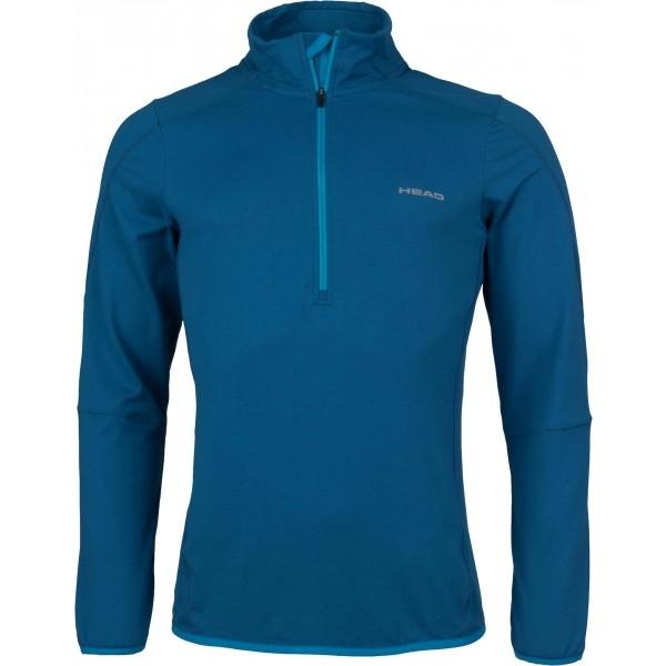 Head BARNEY niebieski XXL - Bluza do biegania męska