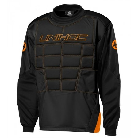 Unihoc GOALIE SWEATER BLOCKER JR - Children's goalkeeper jersey