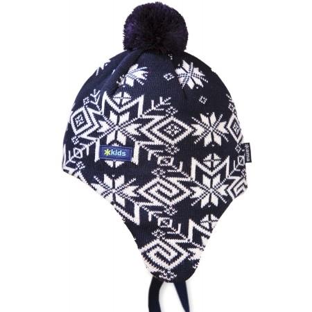 Kama ČIAPKA MERINO BRMBOLEC - Detská zimná čiapka