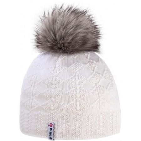 Winter hat - Kama MERINO BOBBLE HAT