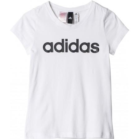 Dívčí sportovní tričko - adidas ESSENTIALS LINEAR TEE - 1