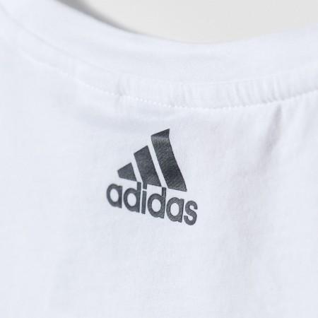 Dívčí sportovní tričko - adidas ESSENTIALS LINEAR TEE - 4