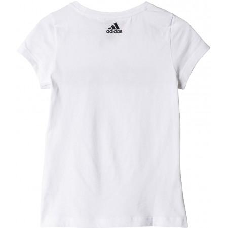 Dívčí sportovní tričko - adidas ESSENTIALS LINEAR TEE - 2