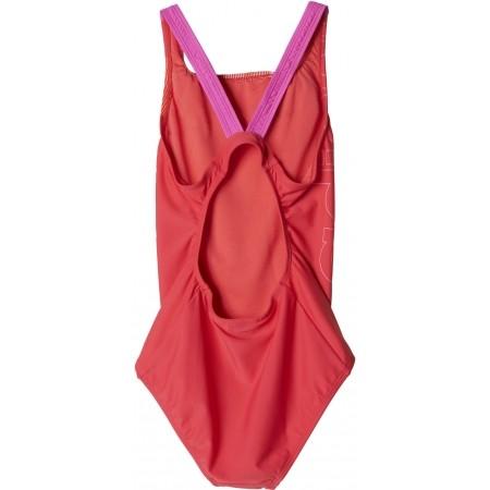 Dievčenské jednodielne plavky - adidas BY LINEAGE SUIT - 2