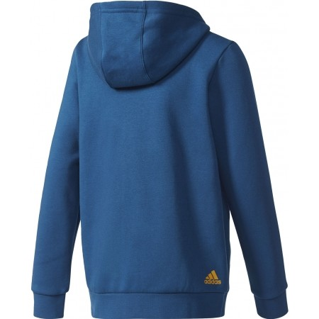 Children's sweatshirt - adidas ESSENTIALS LINEAR FULL ZIP HOODIE - 2