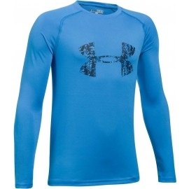 Under Armour BIG LOGO LS TEE - Chlapecké triko
