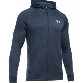 Under Armour TECH TERRY FITTED FZ HOODIE - Pánská mikina