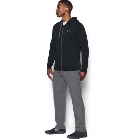 Pánská mikina - Under Armour RIVAL FITTED FULL ZIP - 3