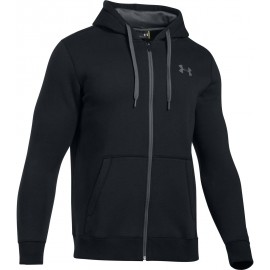 Under Armour RIVAL FITTED FULL ZIP - Мъжки суитшърт