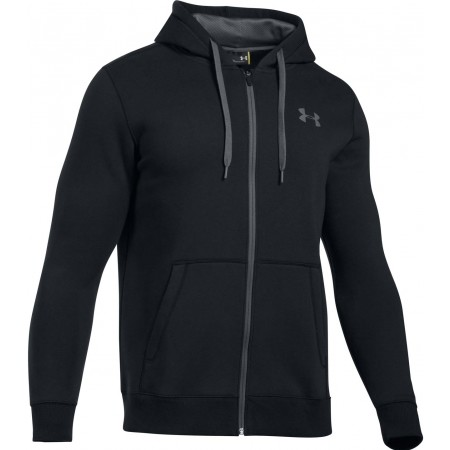 Pánská mikina - Under Armour RIVAL FITTED FULL ZIP - 1