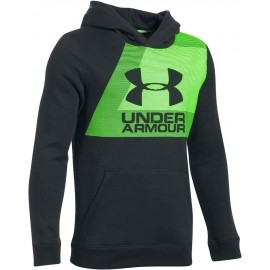 Under Armour BRUSHED GRAPHIC HOODIE - Chlapčenská mikina