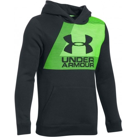69be7f7e7 Chlapecká mikina - Under Armour BRUSHED GRAPHIC HOODIE - 1