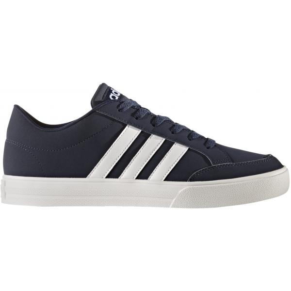 adidas VS SET tmavo modrá 12 - Pánska voľnočasová obuv