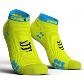 Compressport RACE V3.0 RUN LO - Skarpety do biegania