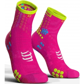 Compressport RACE V3.0 RUN HI - Laufsocken
