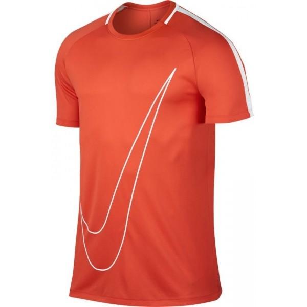 Nike M NK DRY ACDMY TOP SS GX oranžová M - Pánské sportovní triko