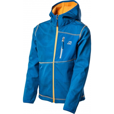 Dětská softshellová bunda - ALPINE PRO INDIGO - 5