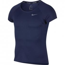 Nike NK DRY MILER TOP  SS M - Мъжка фланелка за бягане