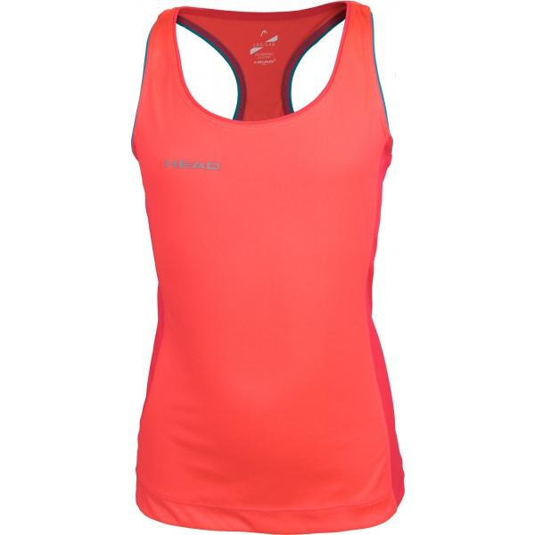 Head DEANA pomarańczowy 152-158 - Koszulka funkcjonalna dziewczęca