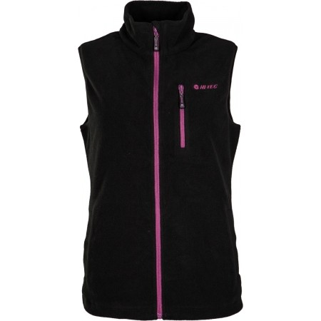 LADY HANTY FLEECE VEST - Dámska fleecová vesta - Hi-Tec LADY HANTY FLEECE VEST - 1