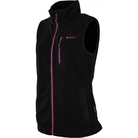 LADY HANTY FLEECE VEST - Dámska fleecová vesta - Hi-Tec LADY HANTY FLEECE VEST - 2