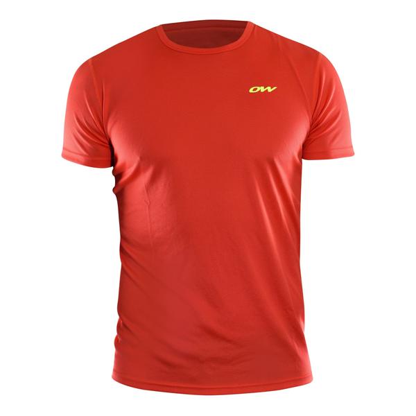 One Way T-SHIRT czerwony XL - Koszulka sportowa