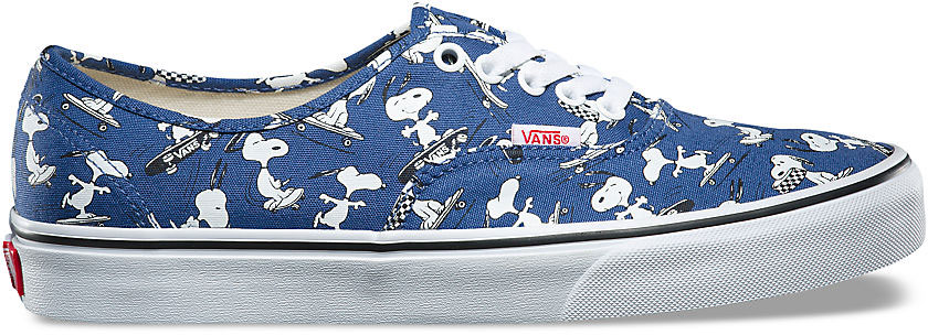 Vans UA AUTHENTIC (PEANUTS) SNOOPY Ink Blue | sportisimo.pl