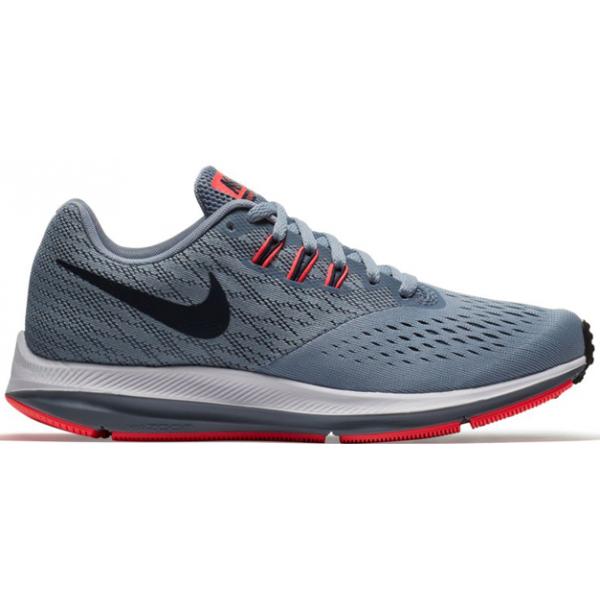 Nike AIR ZOOM WINFLO 4 WMNS tmavo šedá 6.5 - Dámska bežecká obuv