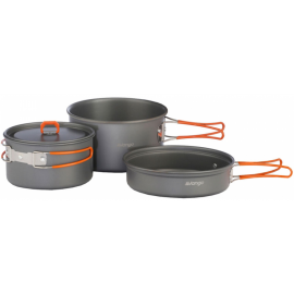 Vango HARD ANODISED ADVENTURE COOK KIT - Set of dishes