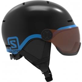 Salomon GROM VISOR - Детска ски каска