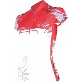 Sensor FLOWERS - Koszulka rowerowa damska