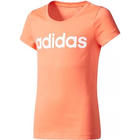 adidas ESSENTIALS LINEAR TEE - Dievčenské tričko