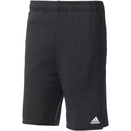 Pánské kraťasy - adidas ESSENTIALS RAW HEM FRENCH TERRY SHORT - 1