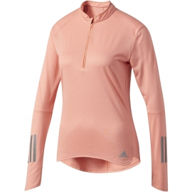 adidas RS LS ZIP TEE W - Women's running T-shirt