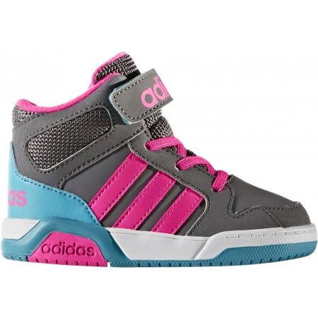 Detská voľnočasová obuv - adidas MID INF - 1 0566a8b33bc