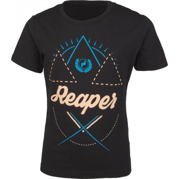 Reaper YUKI czarny 128-134 - Koszulka dziecięca