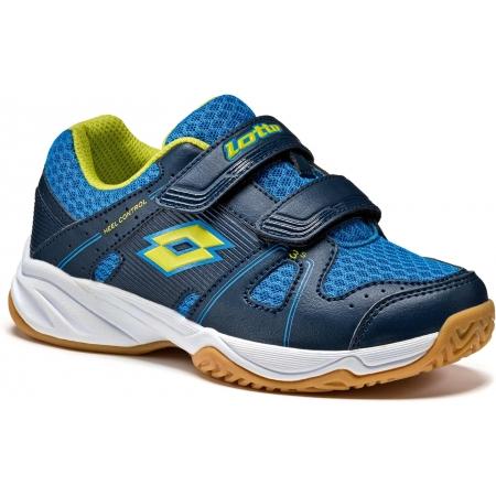 Детски обувки за спорт в зала - Lotto JUMPER 400 CL S - 1