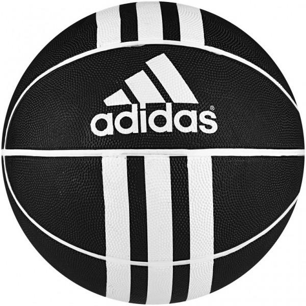 adidas 3S RUBBER X czarny 6 - Piłka do koszykówki