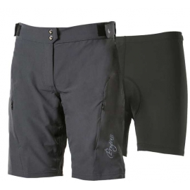 Progress MTB SORTKY W GREY - Women's shorts