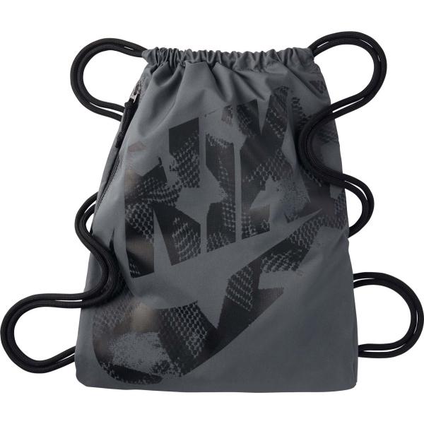 Nike HERITAGE GYMSACK tmavě šedá  - Sportovní vak