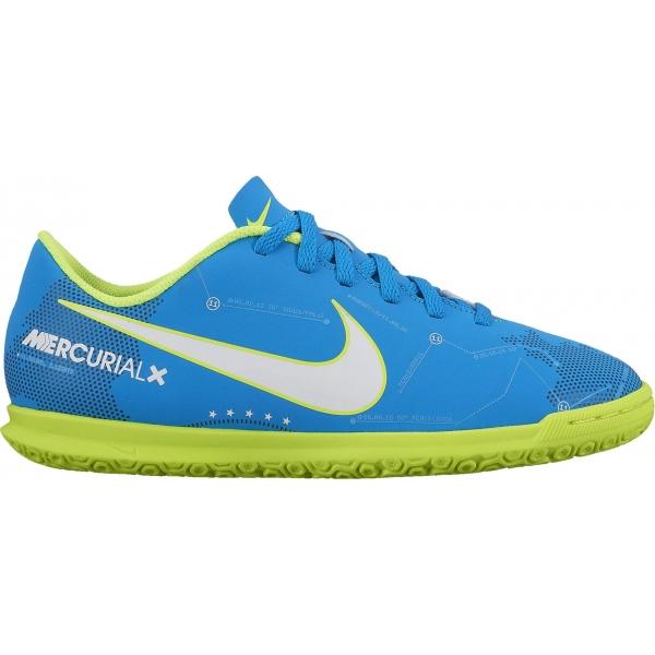 Nike MERCURIALX VORTEX III NJR IC modrá 5.5Y - Detské halové kopačky