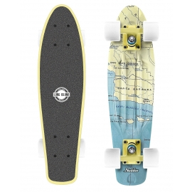 Long Island CALIFORNIA22 - Mini longboard de plastic