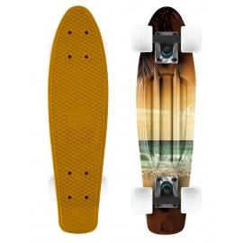 Long Island BEACH22 - Plastikowy mini longboard