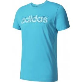 adidas LINEAR SUMMER TEE - Pánské tričko