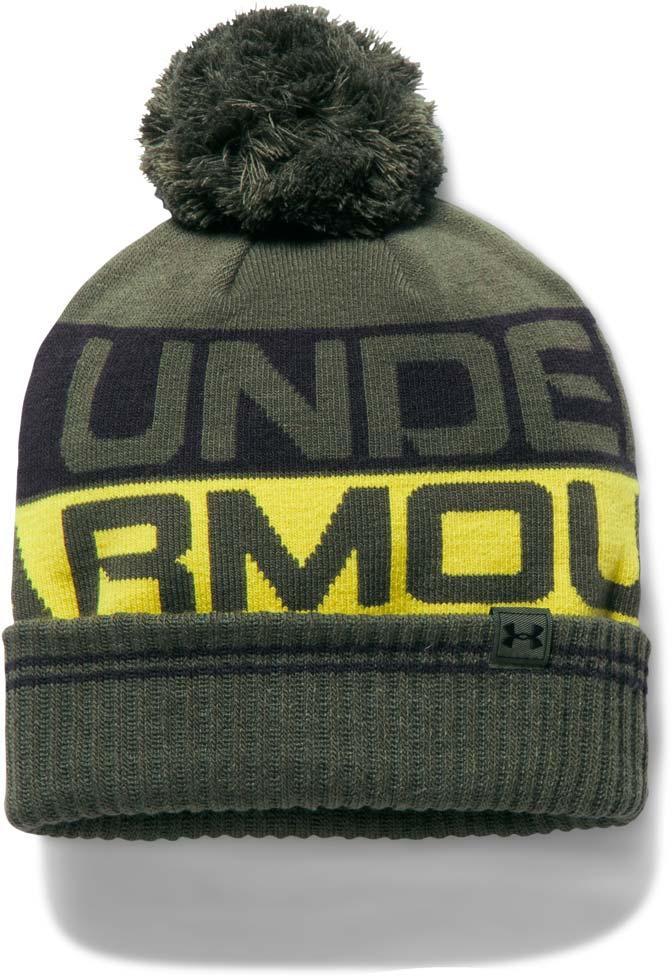 premium selection f6459 1f606 Under Armour MEN S RETRO POM BEANIE 2.0. Men s hat