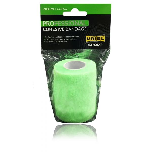 Uriel COHESIVE BANDAGE zelená NS - Elastické samofixační obinadlo