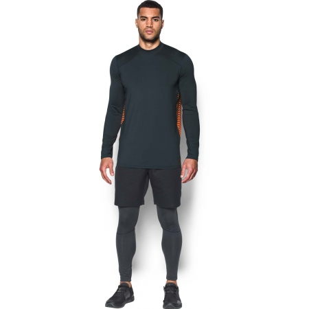 Pánske funkčné tričko - Under Armour CG REACTOR FITTED LS - 4
