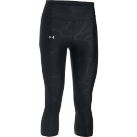 Under Armour FLY BY PRINTED CAPRI - Legginsy do biegania kompresyjne damskie