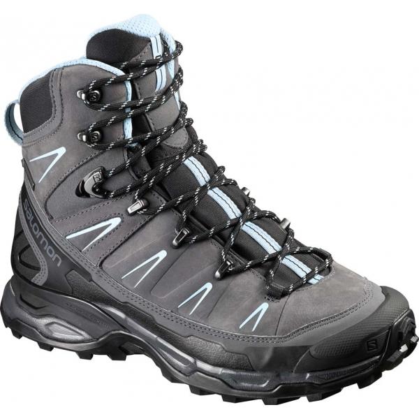 Salomon X ULTRA TREK GTX W šedá 5 - Dámská hikingová obuv