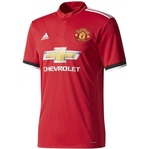 adidas MUFC H JSY červená M - Pánske tričko
